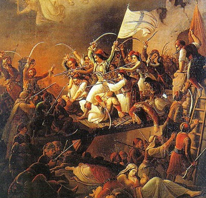 Missolonghi, de Theodoros Vryzakis