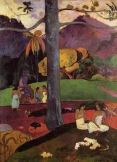 2.-Mata mua - Gauguin