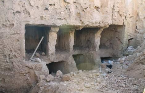 Tumbas grecorromanas en Qabari.