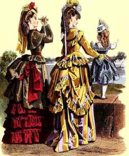 Mujeres de la época Victoriana.